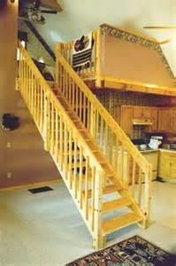 straight staircase kits precision pine inc
