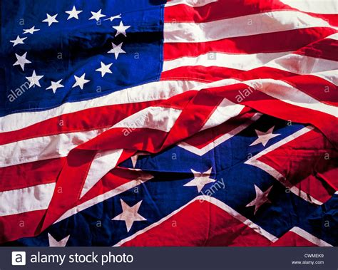 Civil War South Flag Usa civil war flags and south confederate union stock
