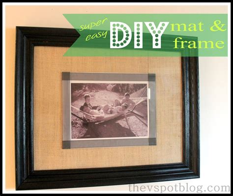 How To Make Mats For Picture Frames a and easy diy mat and frame project no tools you