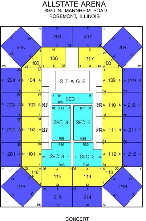 venue seating charts fm chicago wtmx