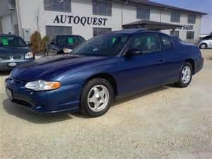 2005 chevrolet monte carlo ls sedan for sale in winnipeg