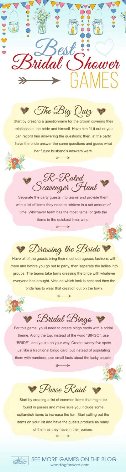 top bridal shower and activities 7 popular bridal shower bridal showers topweddingsites