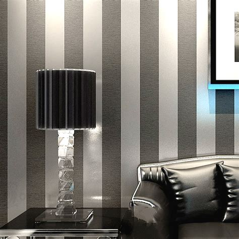 wall coverings for bedrooms aliexpress buy modern feature brief vertical stripes