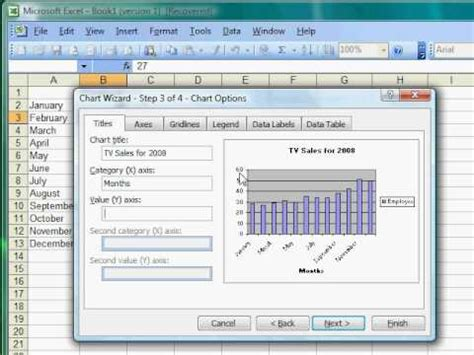 excel 2010 tutorial 13 line chart youtube excel tutorial 13 of 25 how to make a bar graph youtube