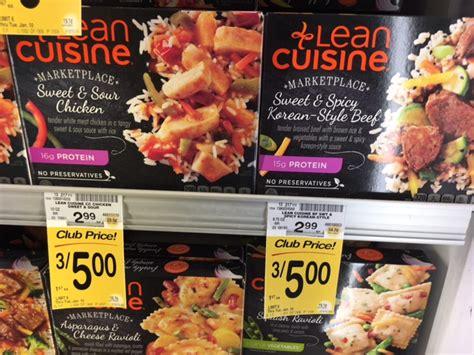 lean cuisine coupons lean cuisine frozen entrees just 1 33 at safeway with