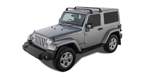 rhino jeep 2 door rhino rack vortex sg black 2 bar roof rack 2 door sg60