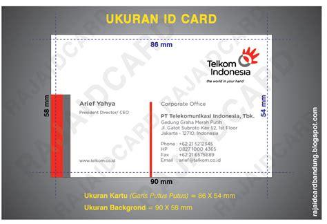 ukuran desain id card raja id card pusat cetak id card murah online di bandung