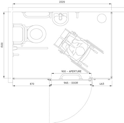 Wheelchair Accessible Toilet Dimensions