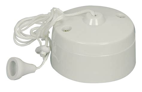 Pull Cord Switch 6a 1 Way Ceiling Mounted Switch For Pull Cord Switch For Bathroom Light