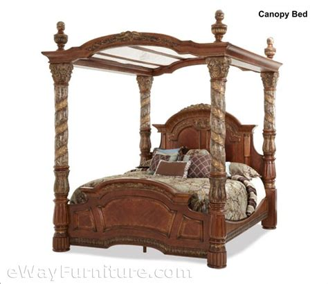 isabella bedroom collection isabella canopy bed bedroom set