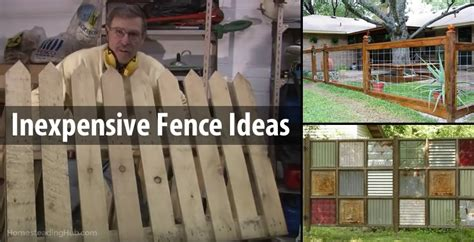 inexpensive fence ideas clever inexpensive fence ideas the homesteading hub