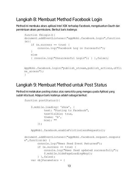 membuat oauth facebook modul 7 integrasi aplikasi dengan facebook api menggunakan