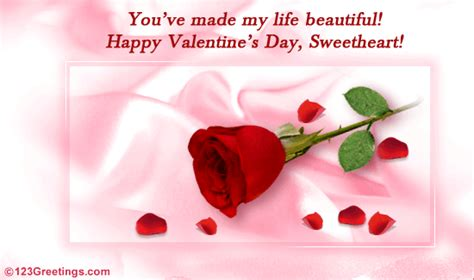 Valentines Day Roses That Speak To You by A S Day Ecard Free Roses Ecards Greeting