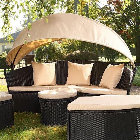 divani in vimini da giardino divano vimini conghilia rattan letto giardino esterno