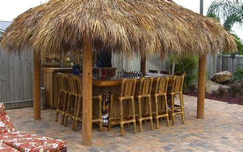 Tiki Hut Kits Florida by Tiki Backyard Ideas Modest With Photos Of Tiki Backyard