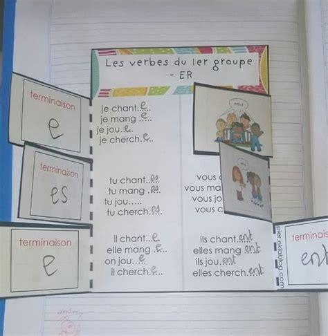 Les Verbes Du 1er Groupe Nicolenipapier Eklablog Com