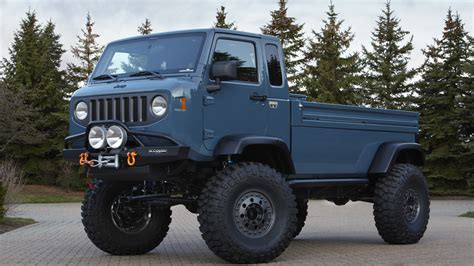 jeep forward control concept jeep revives forward control gladiator pickups in easter