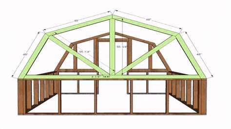 free gambrel roof house plans luxamcc
