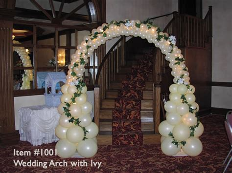 Wedding Arch Anchors by Balloon Arches 1001 Wedding Balloon Arch With Up