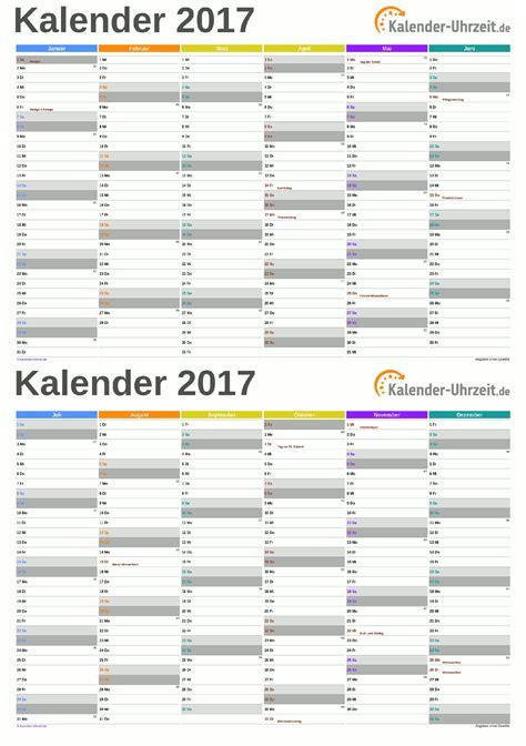 Kalender 2018 Zum Ausdrucken Quartal Kalender 2017 Zum Ausdrucken Kostenlos