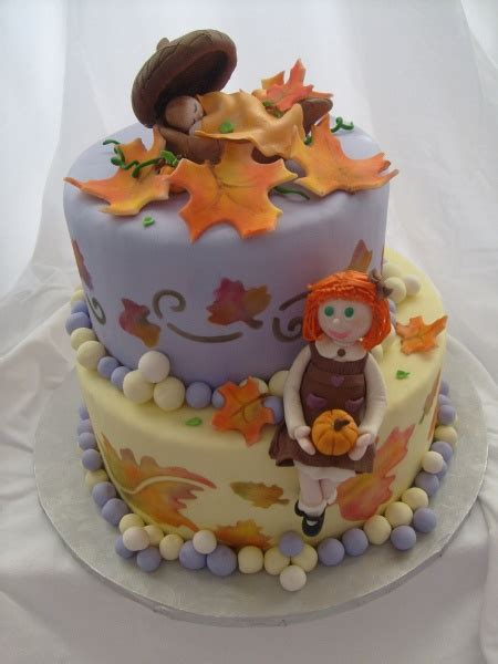 Fall Baby Shower Cake Ideas by Fall Baby Cake Cake Decorating