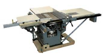 Delta Cabinet Table Saw Unisaw Sliding Table Modifications