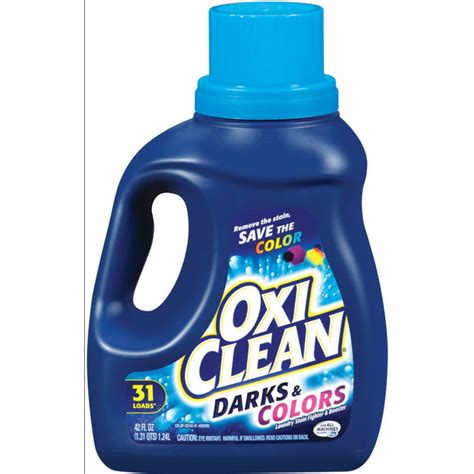 washing darks and colors together shop oxiclean 42 oz darks colors liquid laundry