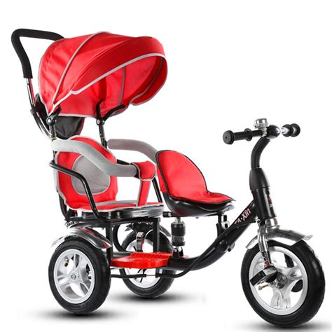 sepeda stroller child tricycle baby bike boy and stroller