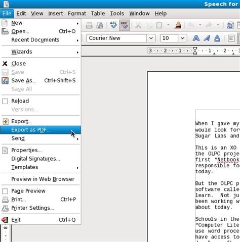 Convertisseur Pdf En Open Office by Chapter Converting Your Own Documents E Book Enlightenment
