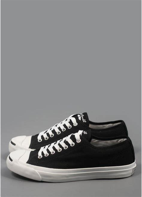 Converse Purcell Not Vans Nudie Nike Adidas Redwing Iron Ranger converse purcell trainers ox black white triads