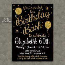 60th birthday invitation 17 best ideas about 60th birthday invitations on