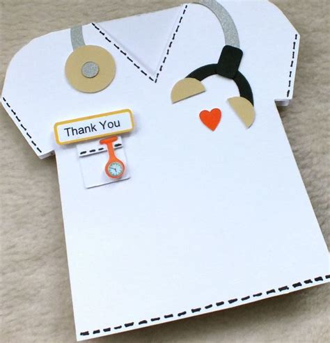 thank you letter to doctor and nurses special doctor vet or handmade thank you folksy