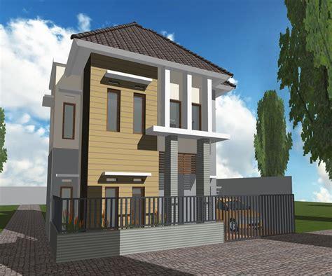 gambar desain rumah minimalis type 54 terbaru 2016 lensarumah