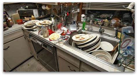messy kitchen the simple art of washing dishes cincinnati real estate