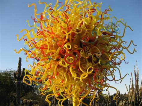 New Chihuly Beautiful Blue 2014 Picture Of Desert Botanical Gardens Chihuly Exhibit