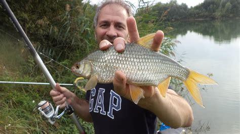 roberto testa pesca nel lago con roberto testa e giuseppe granata
