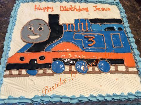 como decorar un pastel de un kilo pastel para 60 personas o torta decoracion de thomas