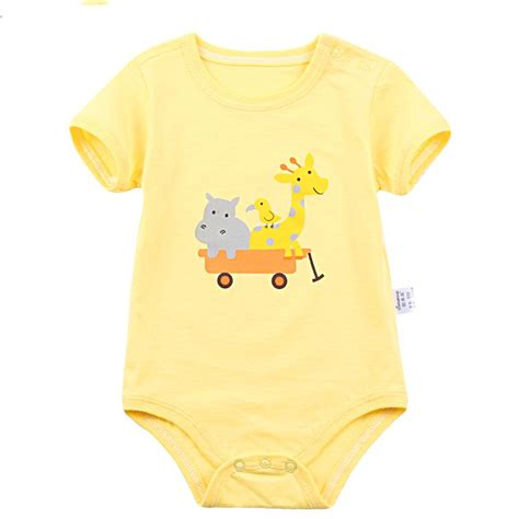 Custom Baby Jumper newborn baby clothes custom cotton baby romper baby