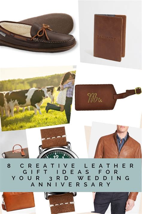 third wedding anniversary leather ideas 8 creative leather gift ideas for your 3rd wedding