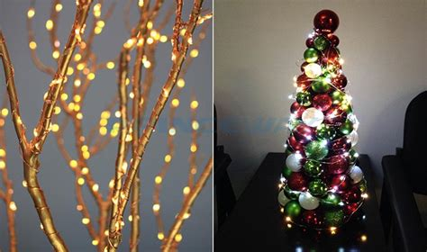 stringing lights on trees beautifu waterproof led string lights 120 leds