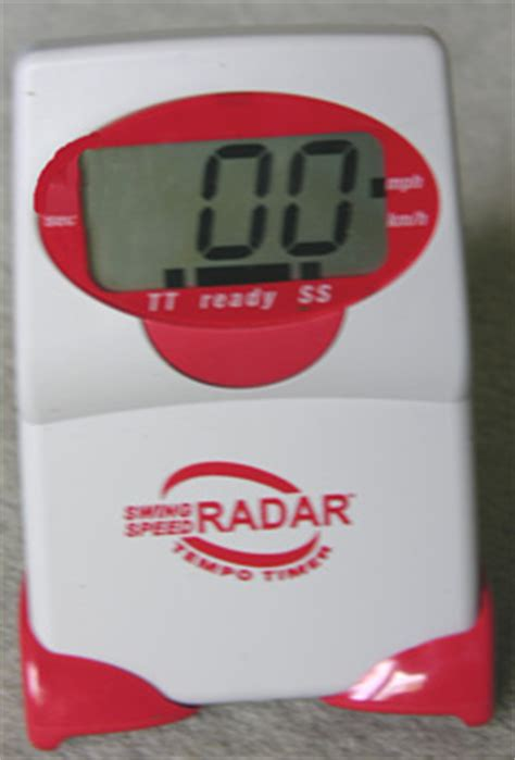 swing speed radar with tempo timer golf swing speed and tempo