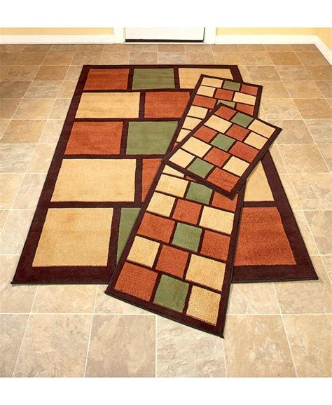 Geometric Runner Rug Spice Boxed Geometric Pattern Rug Collection Area Accent Runner Rug Home Decor Ebay