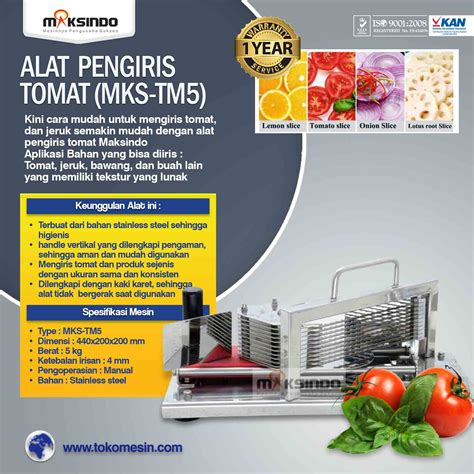 Alat Perajang Bawang Pengiris Bawang Aman Dan Tidak Nangis Lagi alat pengiris tomat mks tm5 toko mesin maksindo toko