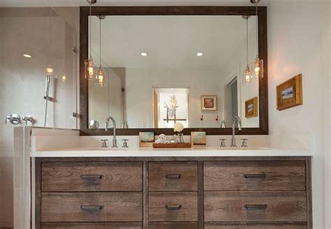 rustic contemporary bathroom rustic modern bathroom drawers decoist