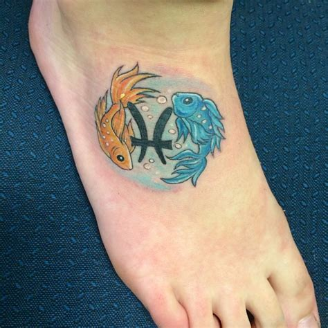 30 gorgeous pisces tattoo designs and ideas try one in