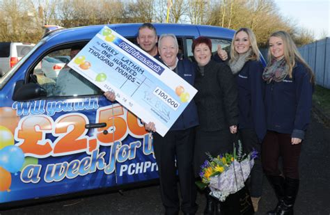 Pch Prize Patrol Live - keith chegwin surprises 163 100 000 prize winning telford resident shropshire live