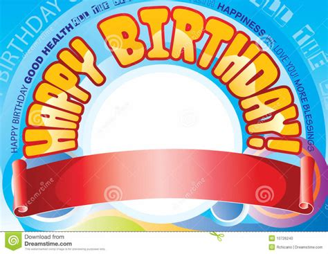 design happy birthday banner home design birthday banner stock photography image