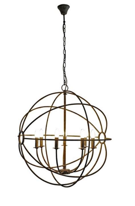 iron sphere floor l sphere iron chandelier