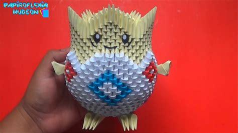 origami 3d togepi
