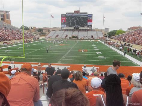 tex section dkr texas memorial stadium section 15 rateyourseats com